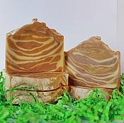 """Косметика ручной работы. Ярмарка Мастеров - ручная работа Мыло """"Три Глины"""" розовая, желтая и каолин, натуральное мыло с нуля. Handmade."""