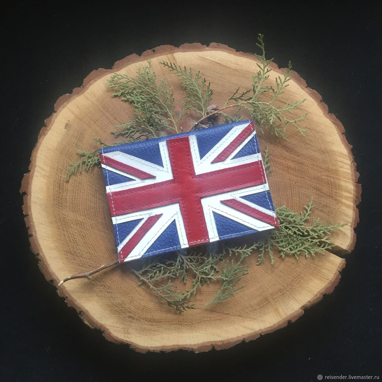 Обложки ручной работы. Ярмарка Мастеров - ручная работа. Купить Обложка на паспорт Unon Jack / Флаг Великобритании. Handmade.