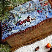 """Подарки к праздникам ручной работы. Ярмарка Мастеров - ручная работа Чайная шкатулка """"Новогоднее настроение"""". Handmade."""
