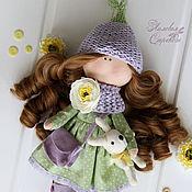 Куклы и игрушки ручной работы. Ярмарка Мастеров - ручная работа Текстильная куколка Бекки.. Handmade.
