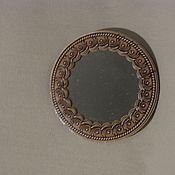 Зеркала ручной работы. Ярмарка Мастеров - ручная работа Зеркало  из бересты  Лилии. Handmade.
