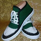 Обувь ручной работы. Ярмарка Мастеров - ручная работа Кеды вязанные. Handmade.