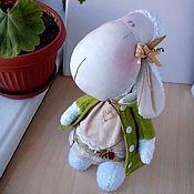 Куклы и игрушки ручной работы. Ярмарка Мастеров - ручная работа Овечка Молли ждет весны.... Handmade.