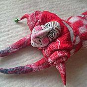 Куклы и игрушки ручной работы. Ярмарка Мастеров - ручная работа красный веcельчак. Handmade.