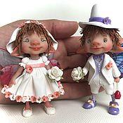 Куклы и игрушки ручной работы. Ярмарка Мастеров - ручная работа Свадебные феи. Handmade.