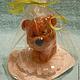 """Мыло ручной работы. Ярмарка Мастеров - ручная работа. Купить Набор """"Мишутка на гербере"""". Handmade. Сувенир, подарок девочке, тедди"""