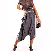 Одежда ручной работы. Ярмарка Мастеров - ручная работа брюки-шаровары с лампасами. Handmade.