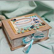 """Подарки к праздникам ручной работы. Ярмарка Мастеров - ручная работа Мамины сокровища """"По морям, по волнам"""". Handmade."""