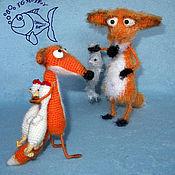 Материалы для творчества handmade. Livemaster - original item MK knitting Sly Fox (Fox). Handmade.