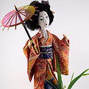 Куклы и игрушки handmade. Livemaster - original item GEISHA dolls. Handmade.