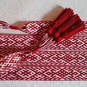 Русский стиль handmade. Livemaster - original item Belt Orapa and Lada. Handmade.