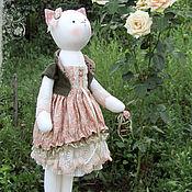"""Куклы и игрушки ручной работы. Ярмарка Мастеров - ручная работа Кошка """"Ты бредишь рыцарями, сказками и снами..."""". Handmade."""