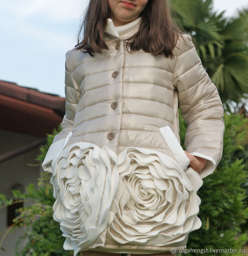 Coat of quilted fabrics from Montclair! one size! To order no, Coats, Udin,  Фото №1