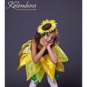 Работы для детей, ручной работы. Ярмарка Мастеров - ручная работа карнавальный костюм подсолнуха-63. Handmade.
