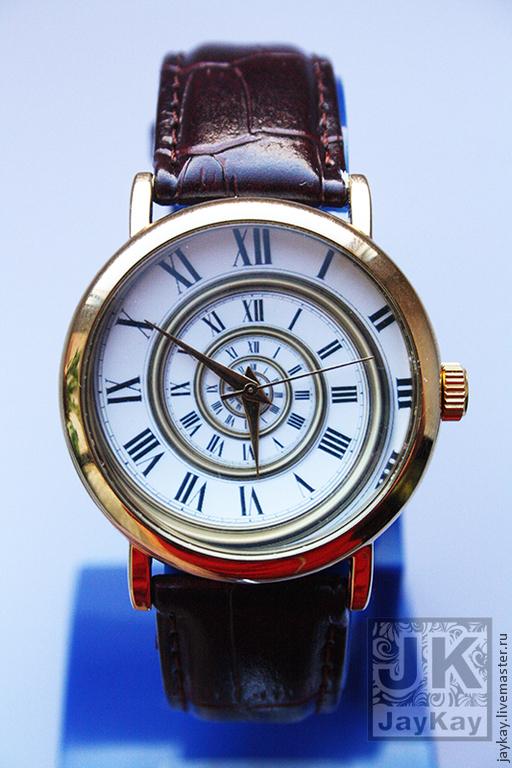"""Часы ручной работы. Ярмарка Мастеров - ручная работа. Купить Часы наручные JK """"Спираль 1"""". Handmade."""