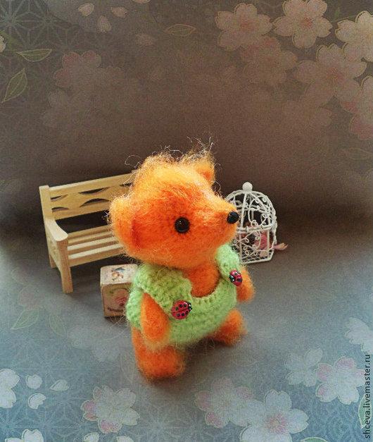 Игрушки животные, ручной работы. Ярмарка Мастеров - ручная работа. Купить Лисенок маленький (лиса, лисичка, лис). Handmade. Рыжий