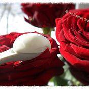 """Кремы ручной работы. Ярмарка Мастеров - ручная работа Укрепляющий крем-комплекс """"Rose"""" для кожи вокруг глаз. Handmade."""