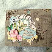 """Фотоальбомы ручной работы. Ярмарка Мастеров - ручная работа Фотоальбом """"Весна"""". Handmade."""
