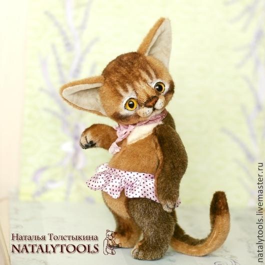 абиссинская порода, кошки, котенок, абиссинский котенок, аби, абик, рыжий котенок, игрушка, авторская работа, игрушка котенок, игрушка абиссинский котенок