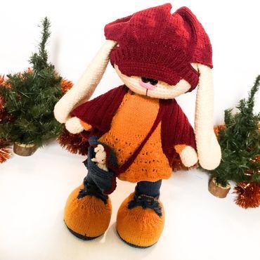 Куклы и игрушки ручной работы. Ярмарка Мастеров - ручная работа Зайка Джоди. Handmade.