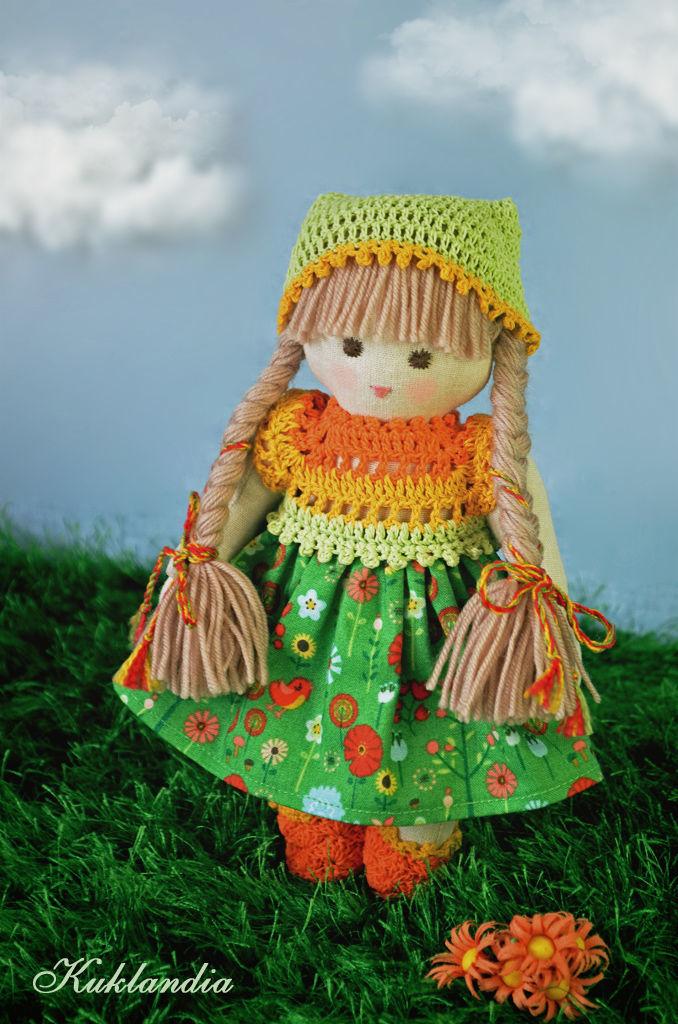 Гномочка, 20 см, Вальдорфская игрушка, Самара, Фото №1