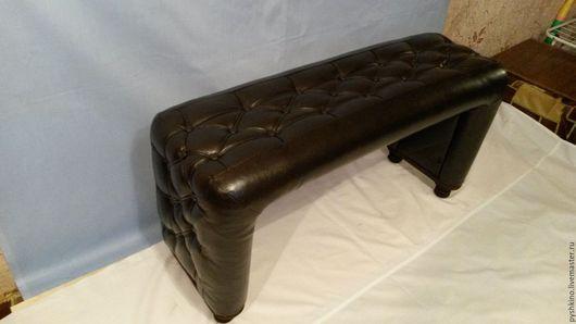 Мебель ручной работы. Ярмарка Мастеров - ручная работа. Купить скамейка банкетка в прихожую. Handmade. Коричневый, банкетка, мебель в прихожую