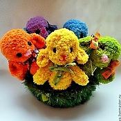Куклы и игрушки ручной работы. Ярмарка Мастеров - ручная работа Игрушка Разноцветная овечка (овечка, мягкая игрушка). Handmade.