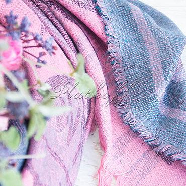 """Аксессуары ручной работы. Ярмарка Мастеров - ручная работа Кашемировый платок  из ткани  HERMES """" Pirouette au Galop"""". Handmade."""