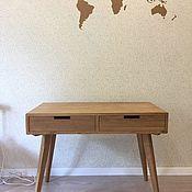 Столы ручной работы. Ярмарка Мастеров - ручная работа Письменный стол Desk v4 из дуба. Handmade.