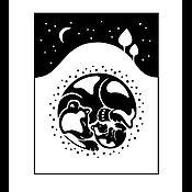 Картины и панно ручной работы. Ярмарка Мастеров - ручная работа Под снегом. Handmade.