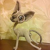 Куклы и игрушки handmade. Livemaster - original item Beige Sphinx with brown eyes. Handmade.