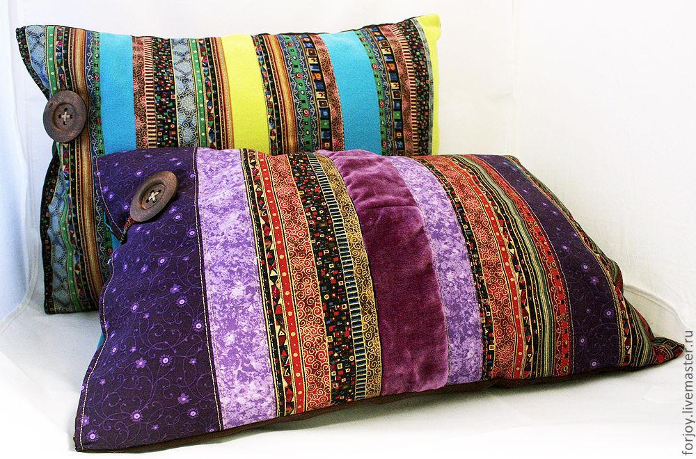 Декоративные подушки своими руками в восточном стиле 46