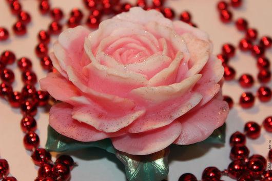 """Мыло ручной работы. Ярмарка Мастеров - ручная работа. Купить Мыло """"Роза № 3"""". Handmade. Комбинированный, Спб, отдушка"""