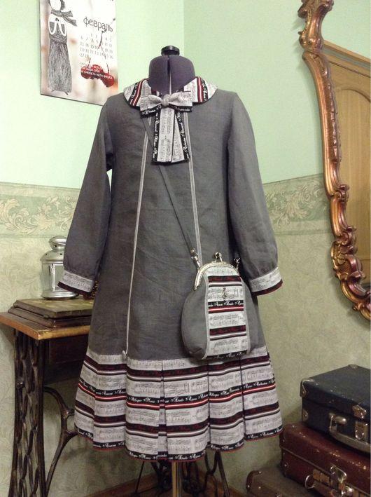 Одежда для девочек, ручной работы. Ярмарка Мастеров - ручная работа. Купить Моя музыка.. Handmade. Детское платье, авторское платье