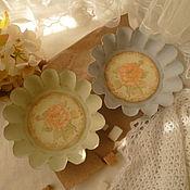 """Для дома и интерьера ручной работы. Ярмарка Мастеров - ручная работа сухарницы-конфетницы """" Provence"""". Handmade."""
