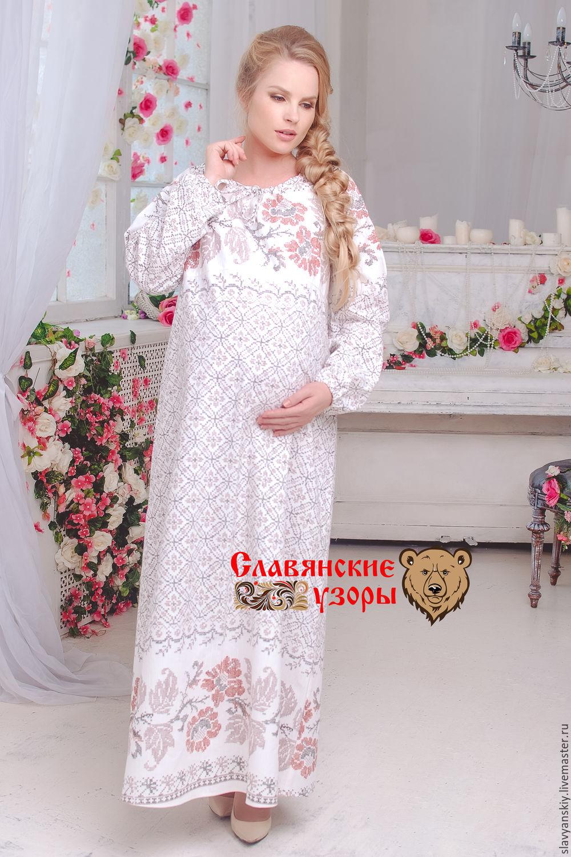 Славянское платье и вышивка