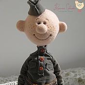 """Куклы и игрушки ручной работы. Ярмарка Мастеров - ручная работа """"Отслужу как надо и вернусь!"""". Handmade."""