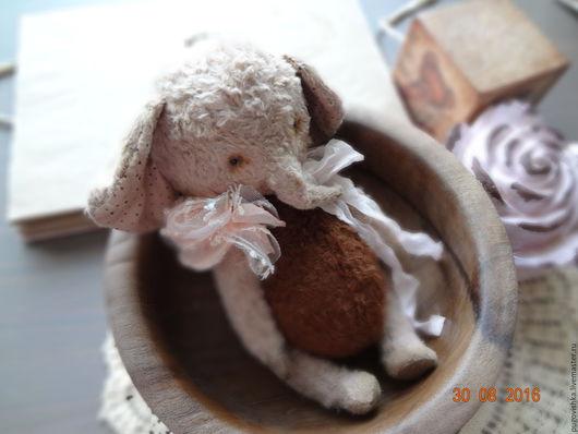 Мишки Тедди ручной работы. Ярмарка Мастеров - ручная работа. Купить Слоник тедди Грета.. Handmade. Комбинированный, тедди слон