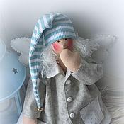 Куклы и игрушки handmade. Livemaster - original item Sleepy angel in the style of Tilda Sevika. Handmade.