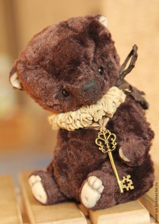 Мишки Тедди ручной работы. Ярмарка Мастеров - ручная работа. Купить Тихон. Handmade. Коричневый, стальной гранулят