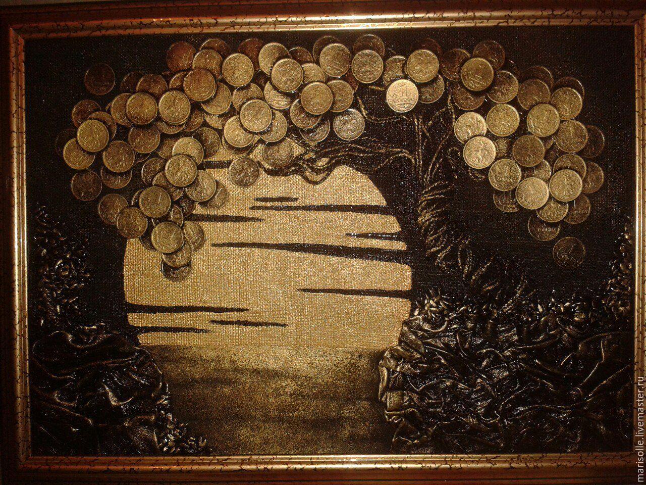 Картины из монет купить альбом все сочинские монеты