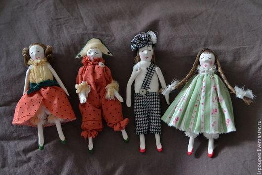 Миниатюра ручной работы. Ярмарка Мастеров - ручная работа. Купить Куклы-миниатюры. Handmade. Серый, кукла в подарок, кукла