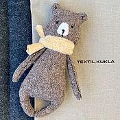 Куклы и игрушки handmade. Livemaster - original item A bear made of tweed is a toy. Handmade.