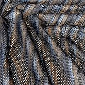 Материалы для творчества handmade. Livemaster - original item Natural perforated leather Bronze-silver 1 mm. Handmade.