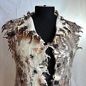 """Одежда ручной работы. Ярмарка Мастеров - ручная работа """"Дремучесть"""" жилет. Handmade."""
