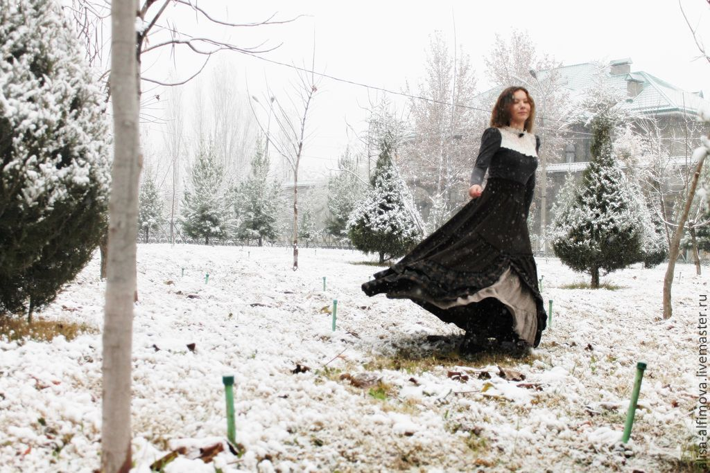 Winter chic boho-skirt 'happiness...', Skirts, Tashkent,  Фото №1