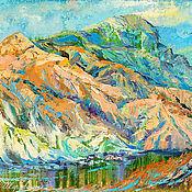 Картины и панно handmade. Livemaster - original item Picture of mountain