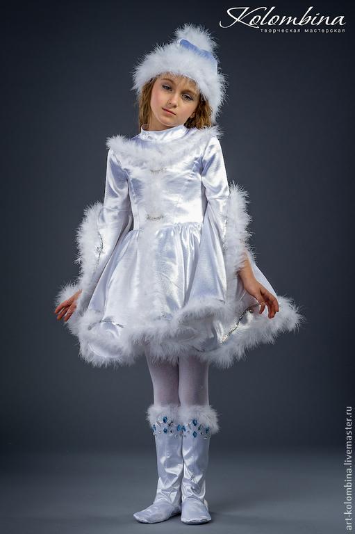 Olga (art-colombina · Карнавальные костюмы ручной работы. Костюм Снегурочки -2. 4bae878e269a9