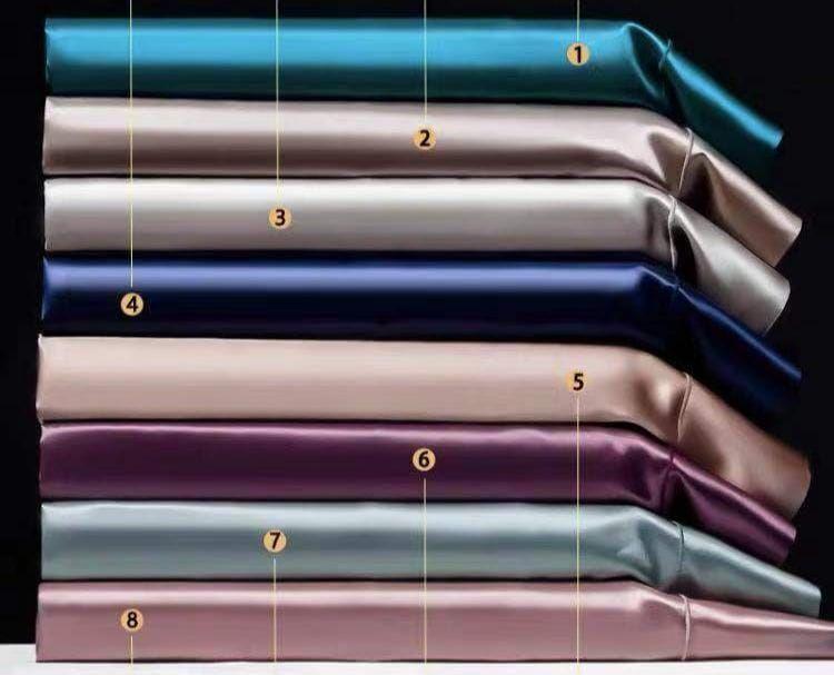 Шёлковые простыни: разные цвета из комплектов на 22 mumi, Простыни, Москва,  Фото №1