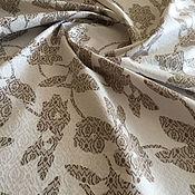 Материалы для творчества handmade. Livemaster - original item Italian cotton jacquard with elastane. Handmade.